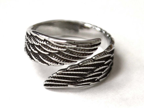 Wing Stainless Steel Ring 81-1461
