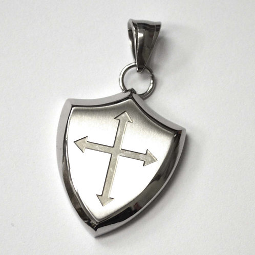 Cross Shield Pendant 86-2428