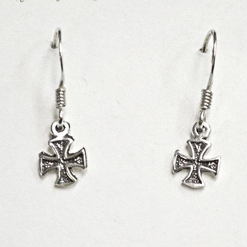 Cross Dangling Earring 535137
