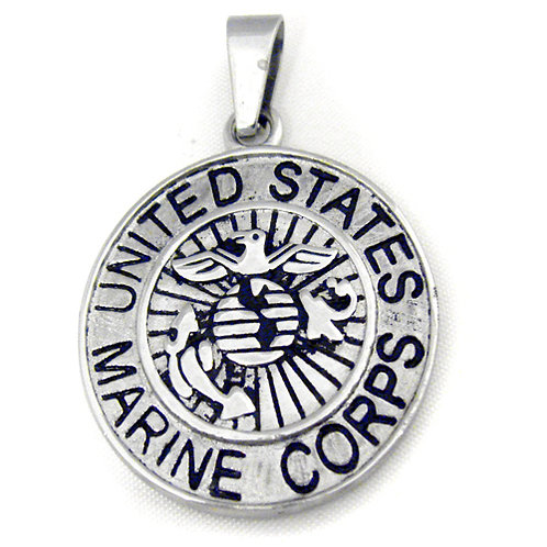 US Marine Medallion Pendant 86-869