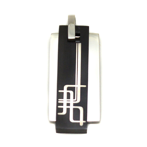 STAINLESS STEEL PENDANT 86-1198
