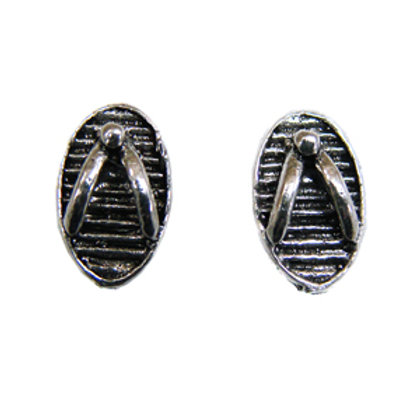 Sandals Slipper Stud Earring