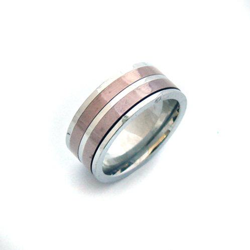 Stainless Steel Spinner Ring  81-265