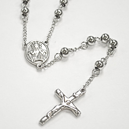 6MM STAINLESS STEEL ROSARY