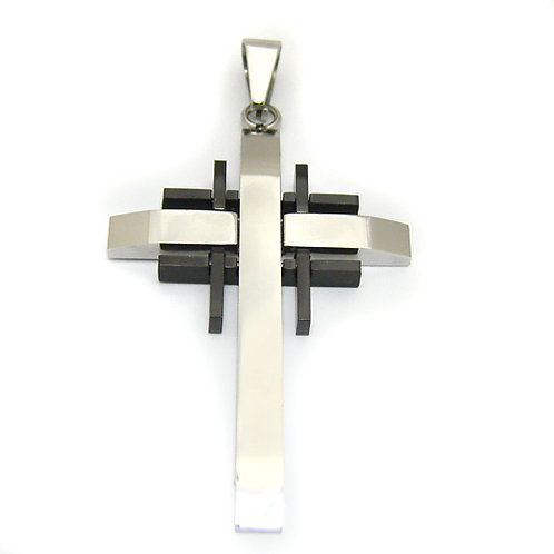 Cross Stainlesss Steel Pendant 86-330