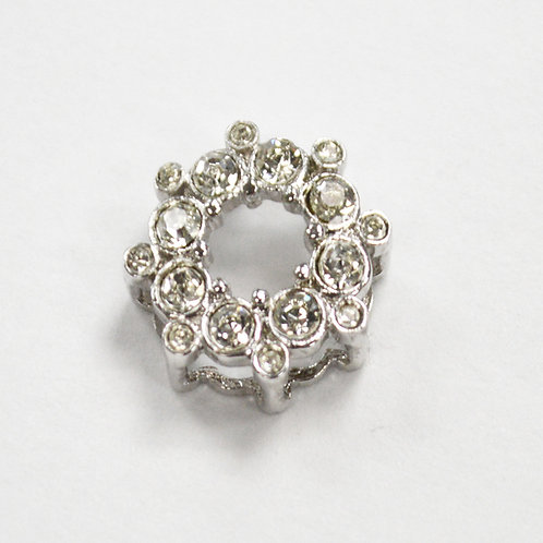 CZ Stone Pendant Sterling Silver 562098