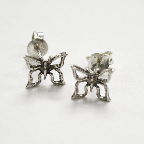 Butterfly Sterling Silver Stud Earring 535240