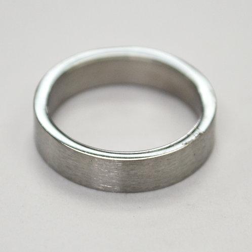 Flat Plain Band Ring (4mm) 81-304-4