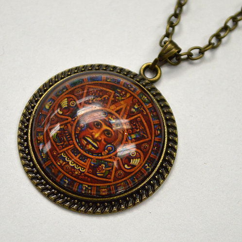 Aztec Calendar Fashion Jewelry FJ-5