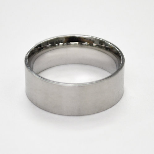 Flat Plain Band Ring (7mm) 81-304-7