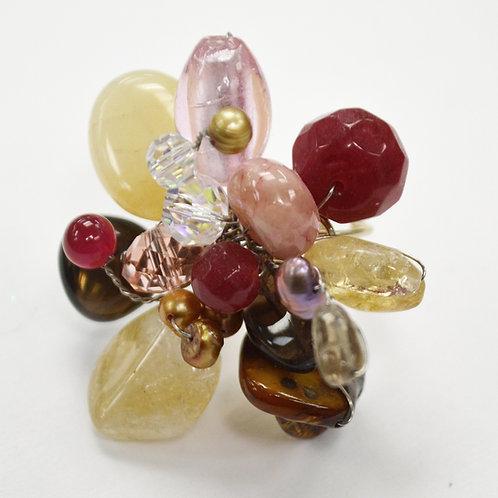 Semi Precious Stone Ring 522008