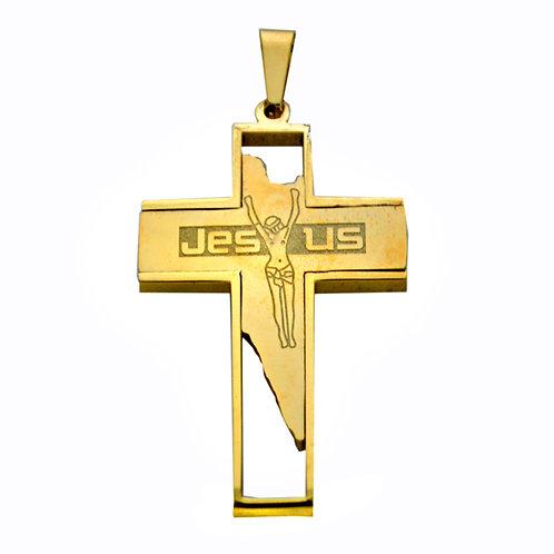 JESUS CROSS Pendant(35x50mm)