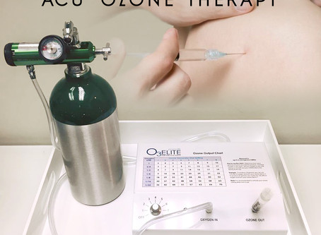 What is ozone therapy and what is it used to treat?