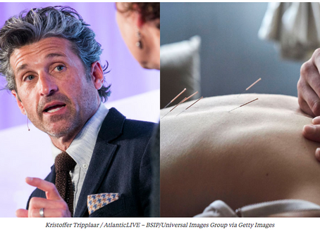 Patrick Dempsey loves acupuncture, his cancer center offers acupuncture – INSIDER