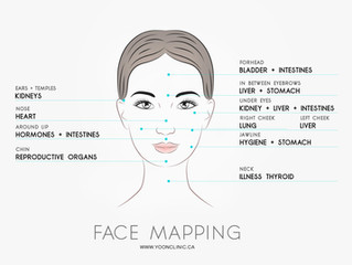 "Traditional Chinese Medicine Diagnosis ""FACE MAPPING"""