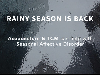 Acupuncture & TCM can help with seasonal affective disorder (SAD)