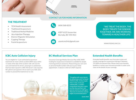 Yoon Clinic Brochure Launch – Visit us for new 2019 brochure
