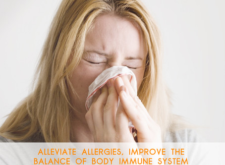 TIAN JIU (天灸:HEAVENLY MOXIBUSTION) THERAPY FOR ALLERGIC RHINITIS & BOOSTING IMMUNE SYSTEM