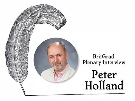 Plenary Interview: Peter Holland