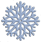 3d blue silver snowflake anw 45.png
