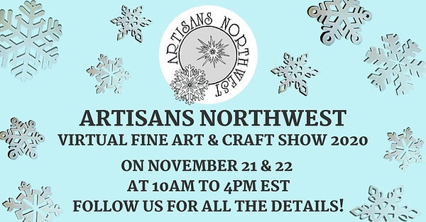 Artisans Northwest Virtual Art and Craft show 2020
