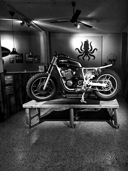 Guía: Cómo realizar un banco de madera para motos