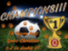 Soccer champs