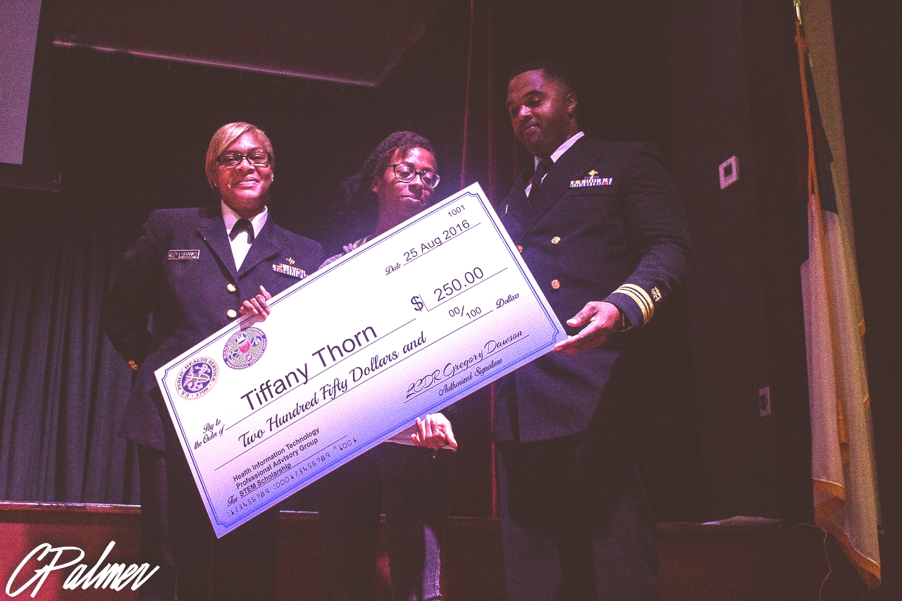 Tiffany STEM Scholarship recipient