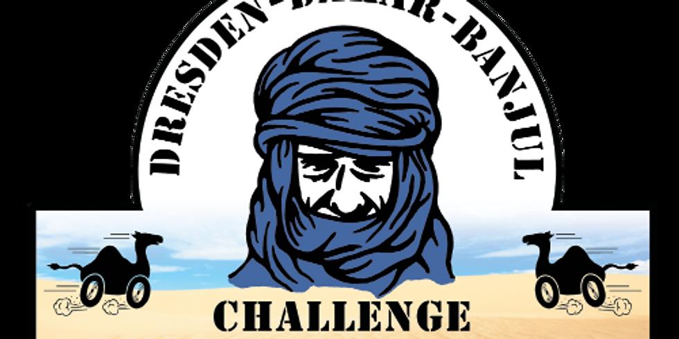 Rallye Dresden-Dakar-Banjul März 2020