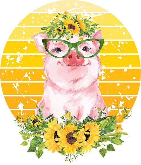 Sunflowerpig with background.png