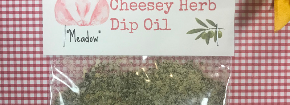 Cheesey Herb Dipping Oil