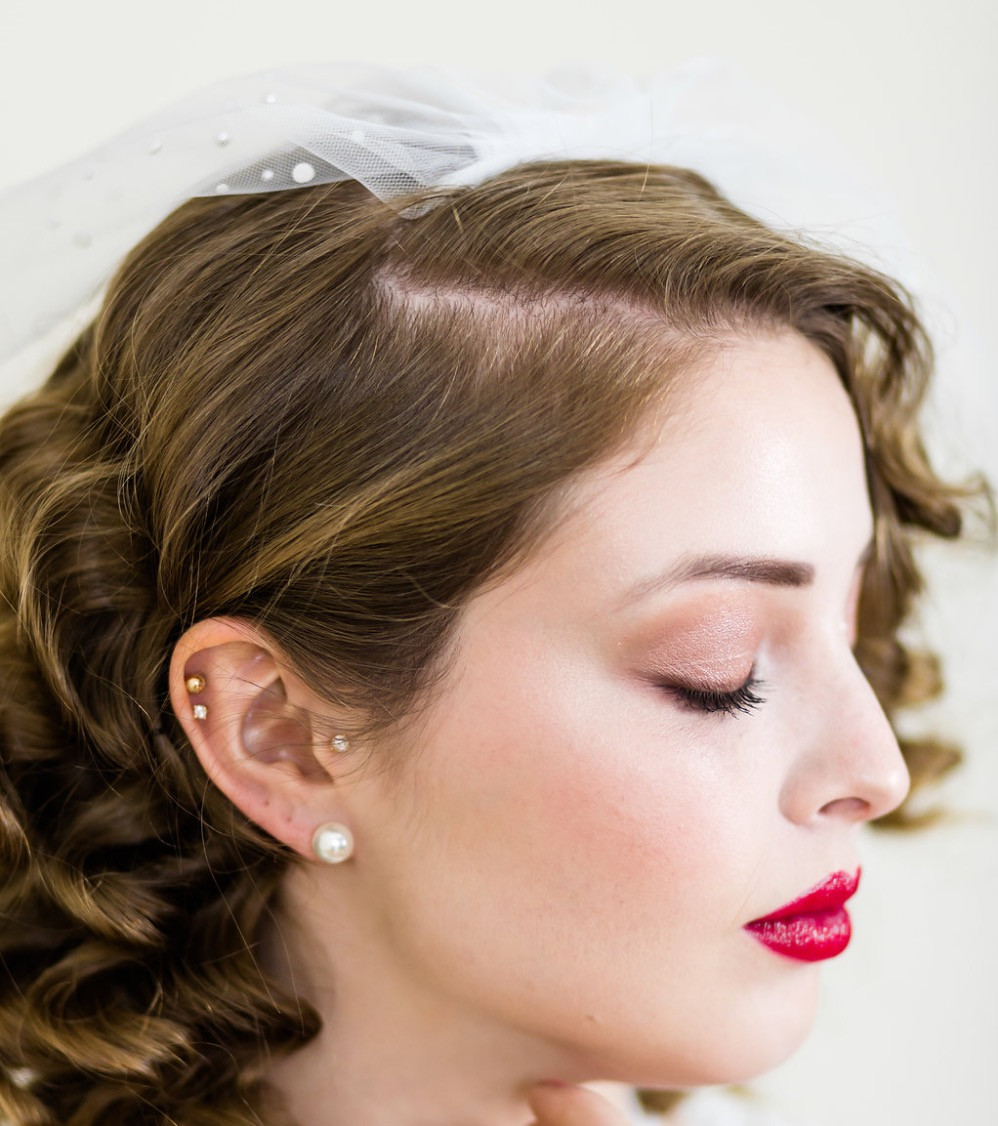 Soft Glamour Bridal Look