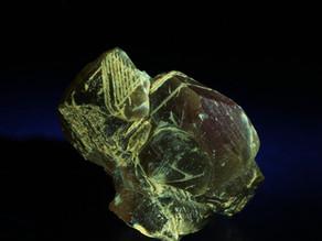 """""""Black"""" Calcite from Belgium"""