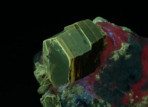 Phlogopite in calcite