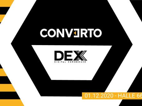 Triff Converto an der DEX20!