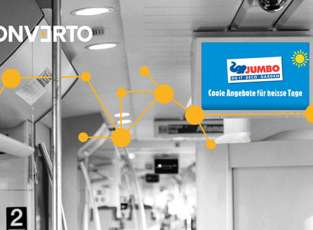 Jumbo bucht clevere Feed Based VIDEO Kampagne mit Wetter Targeting