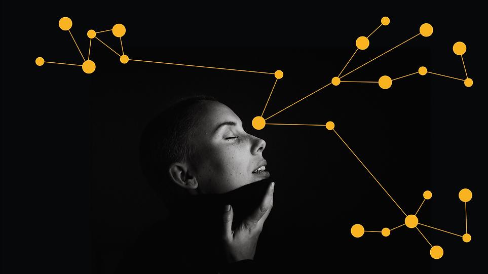 Kopf mit Datenverbindung - Origate by CONVERTO.COM