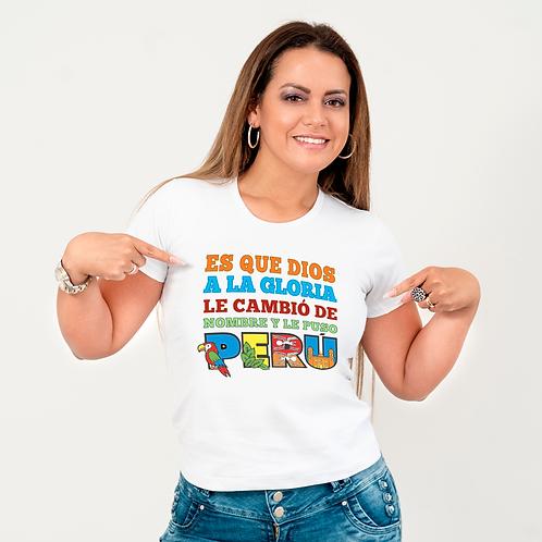 """Camiseta """"Y se llama Perú"""""""