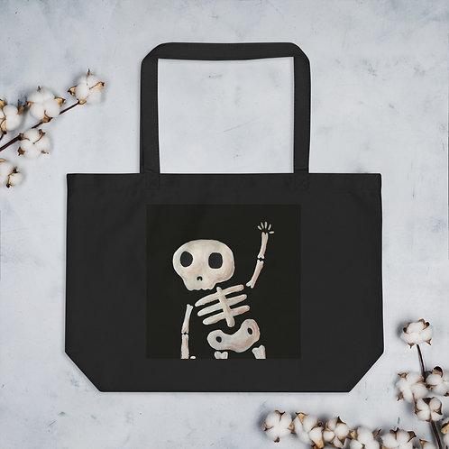 Mr. Bones Large organic tote bag
