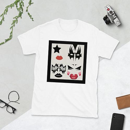 Kiss This Kitty Girl Short-Sleeve Unisex T-Shirt