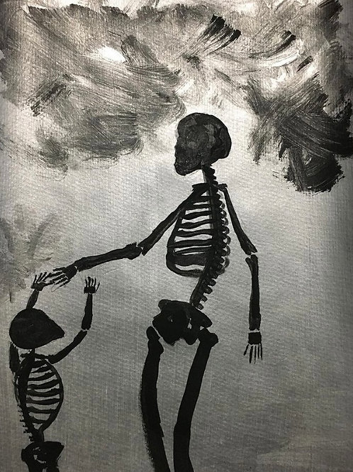 Mother and Child Bones