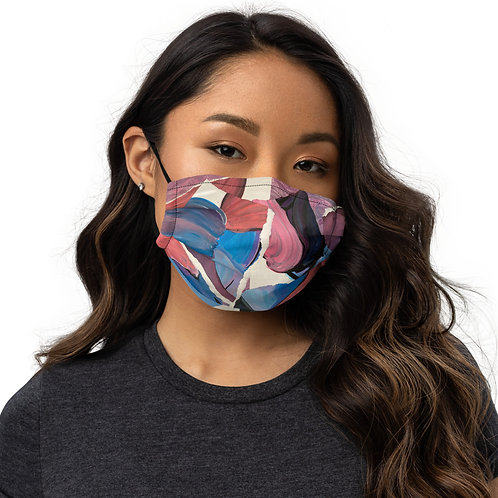 Abstract Mess Premium face mask
