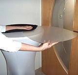 Stehtischhusse mit Schutzplatte  mieten