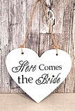 Herz - here comes the Bride