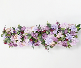 Blumenzeile flieder - lilac