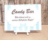 Schild Candybar