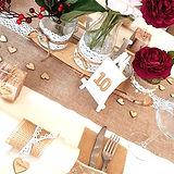 Hochzeitsdeko mieten Vintage Holz edel_b