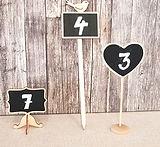 Tischnummern Tafeln