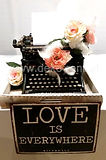 Schreibmaschine Vintage - Hochzeitsdeko