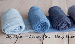 Tischläufer Blautöne